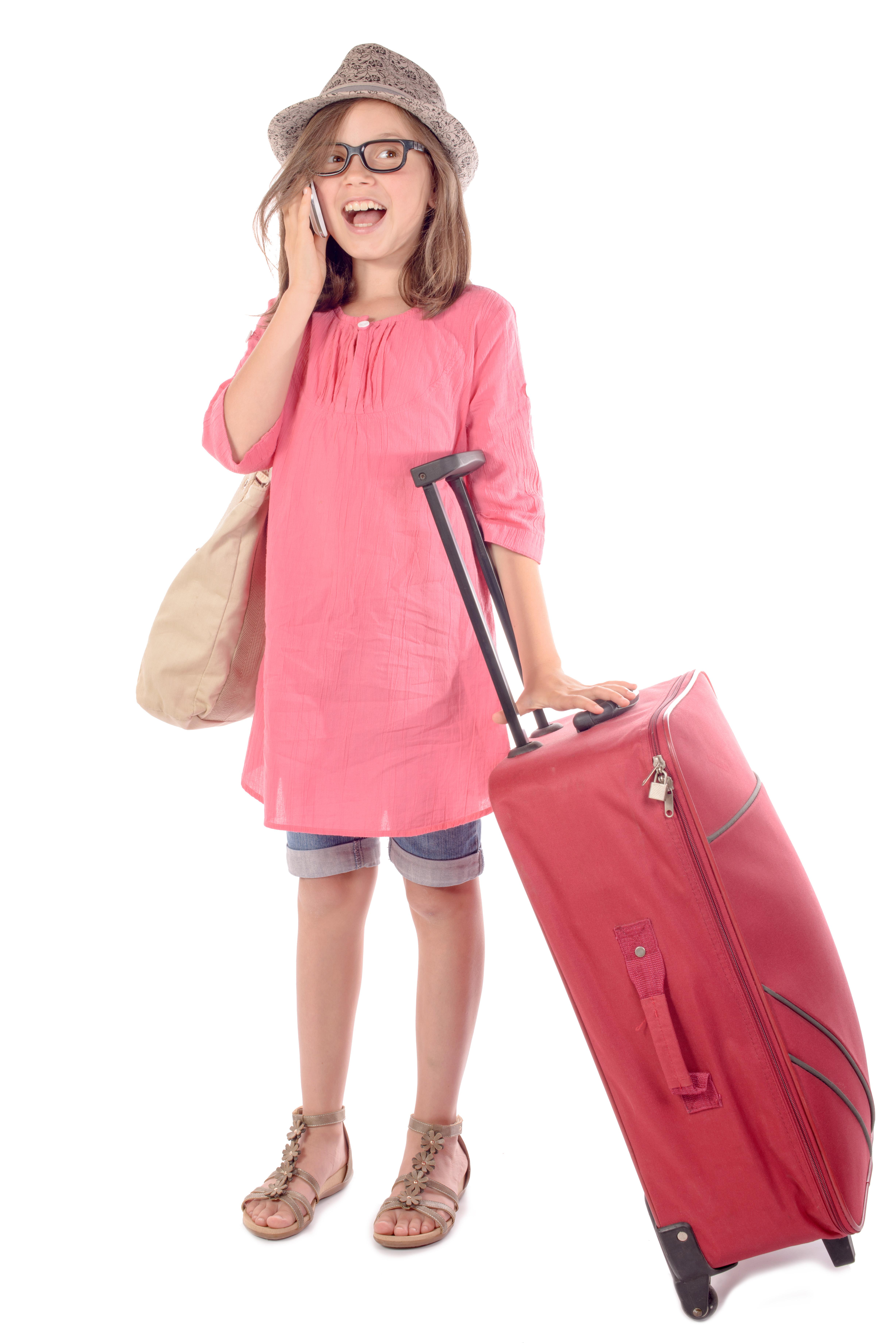 Préparation des bagages pour enfants
